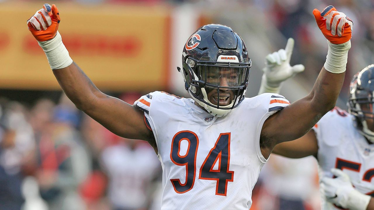 Option gezogen: Leonard Floyd (Chicago Bears) - Bildquelle: imago