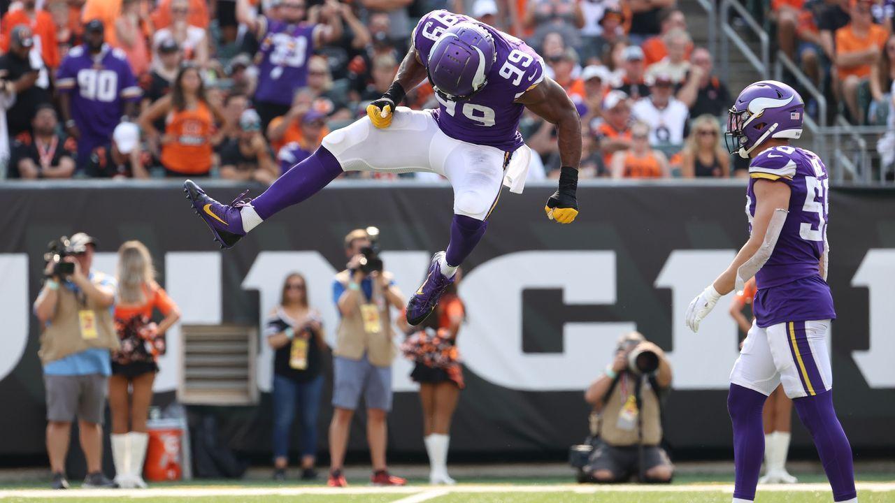 Platz 3: Minnesota Vikings - Bildquelle: 2021 Getty Images