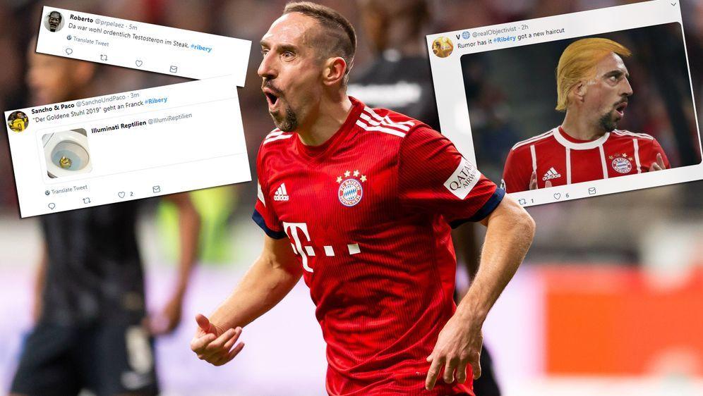 Franck Ribery schlägt im Netz nach seinem Ausraster heftiger Gegenwind ins G... - Bildquelle: imago/DeFodi