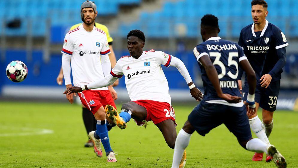 Der VfL Bochum bezwingt Tabellenführer Hamburg - Bildquelle: Getty Images