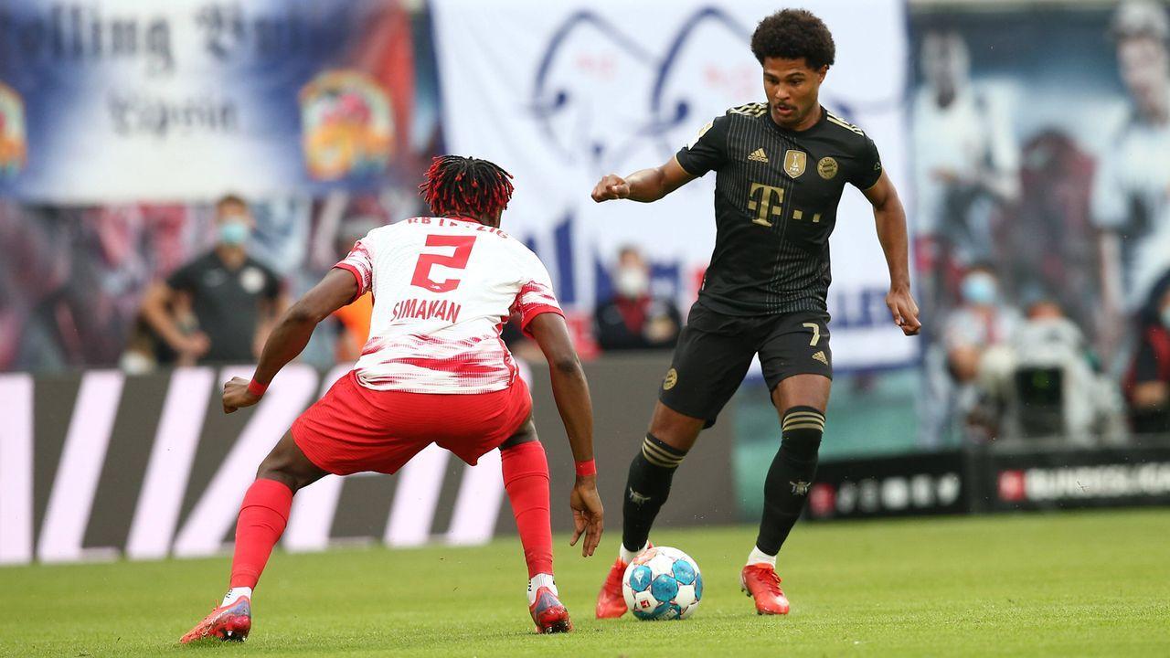 Serge Gnabry (FC Bayern München) - Bildquelle: Imago