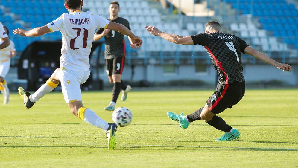 Ivan Perisic erzielte Kroatiens Treffer gegen Armenien - Bildquelle: imago images/AFLOSPORT