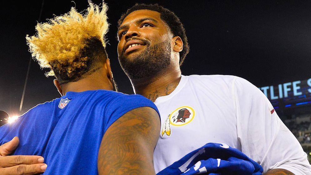 Seit 2010 in der NFL, seit 2010 bei den Washington Redskins: Trent Williams ... - Bildquelle: Getty Images