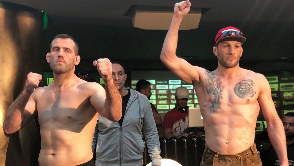 Rückkampf im Halbschwergewicht: Joachim Christensen vs. Stephan Pütz - Bildquelle: Susann Brandes