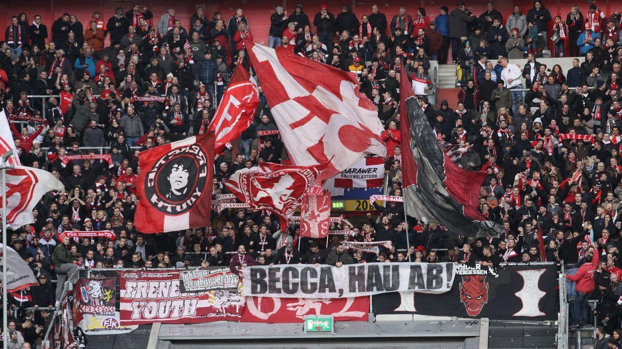 1. FC Kaiserslautern - Bildquelle: imago images/Jan Huebner