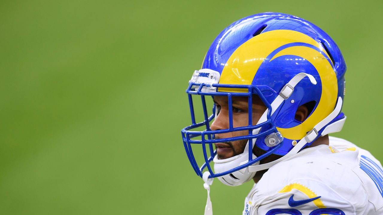 Platz 1: Aaron Donald (Los Angeles Rams) - Bildquelle: 2020 Getty Images