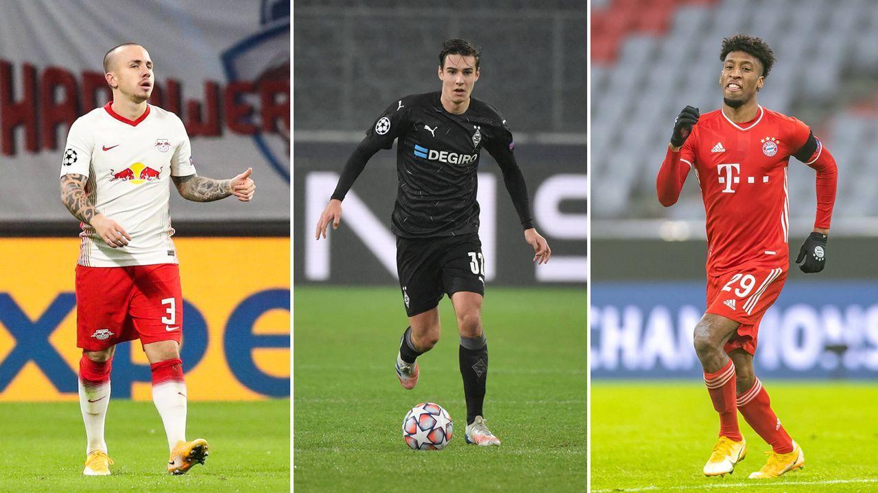 Champions League: Das Top-Team der deutschen Klubs in der Gruppenphase 2020/2021 - Bildquelle: imago images