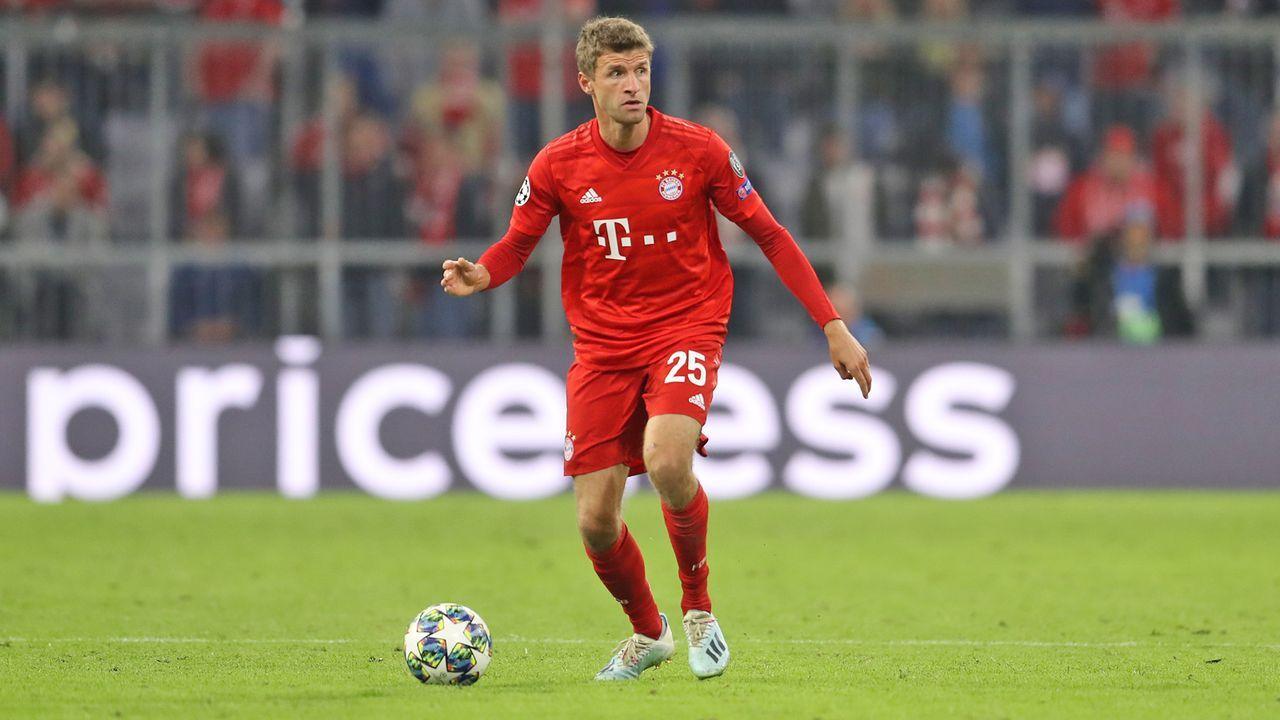 Thomas Müller (FC Bayern München) - Bildquelle: 2019 Getty Images