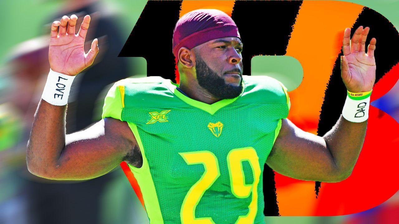 Jacques Patrick (Cincinnati Bengals) - Bildquelle: imago