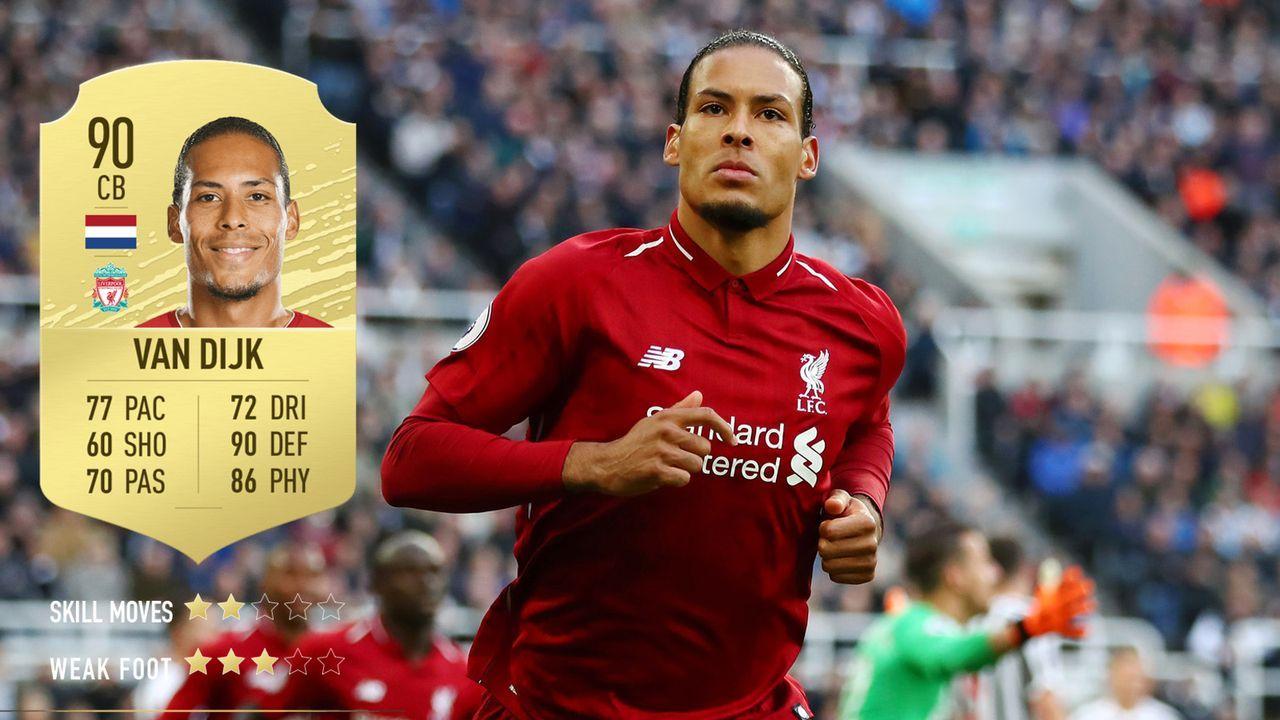 7. Virgil van Dijk (FC Liverpool)  - Bildquelle: 2019 Getty Images