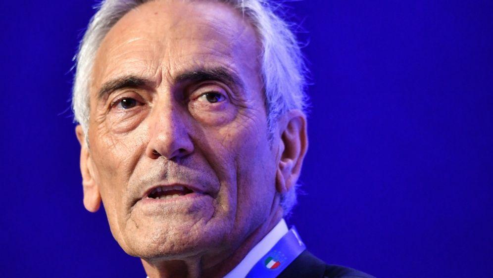 Weitere drei Jahre Präsident des FIGC: Gabriele Gravina - Bildquelle: AFPSIDALBERTO PIZZOLI