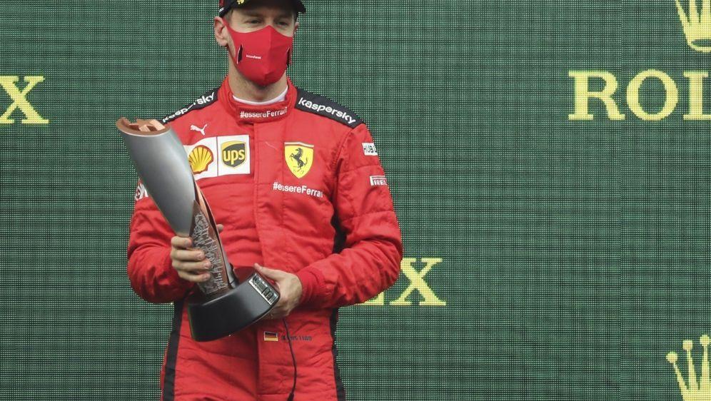 Vettel kehrte in Istanbul auf das Podest zurück - Bildquelle: AFPSIDSerhat Cagdas