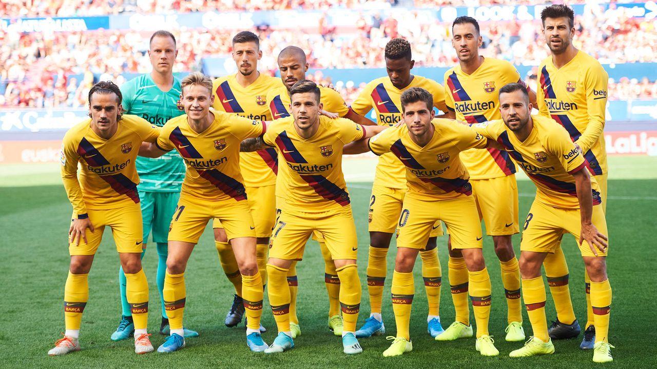 Platz 3: FC Barcelona - Bildquelle: 2019 Getty Images