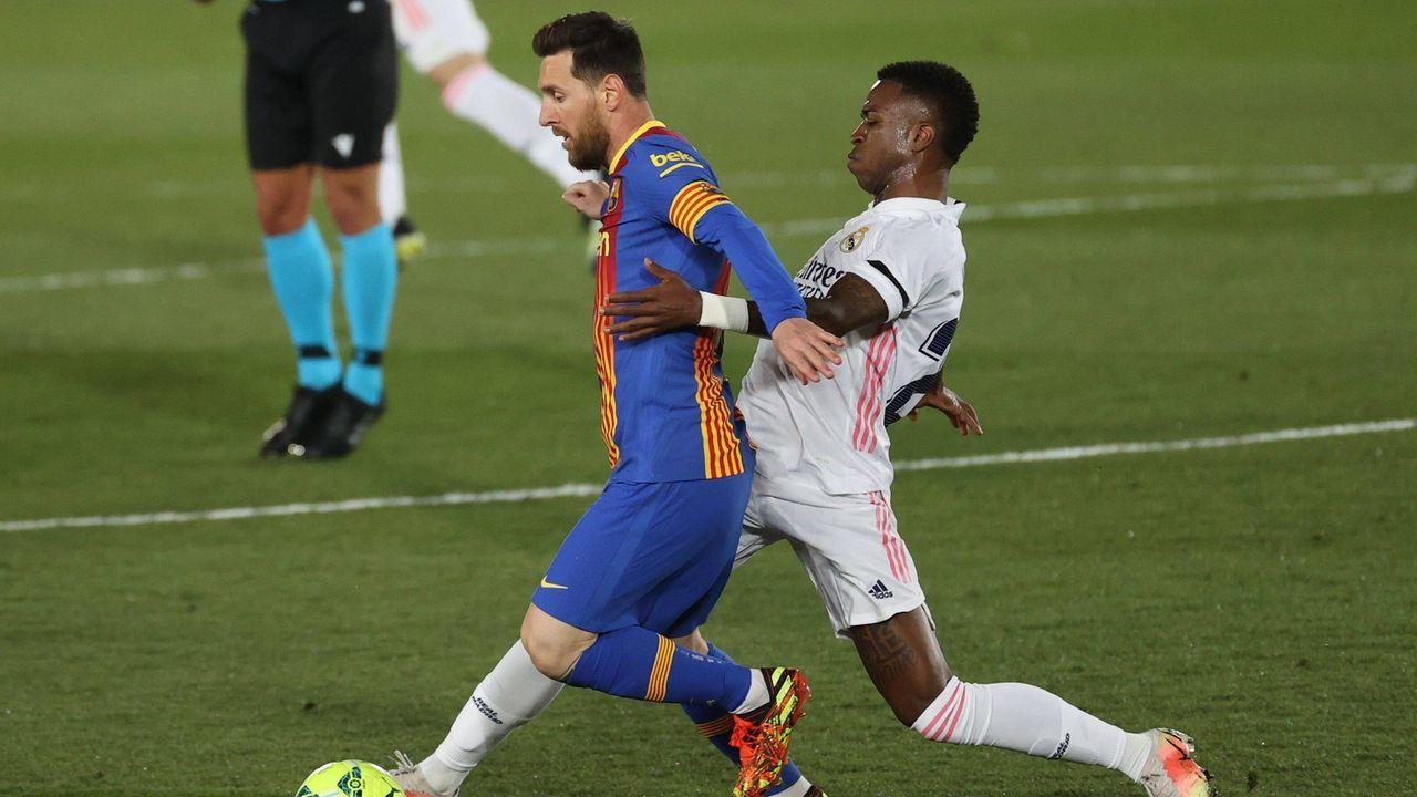 Nach Rückstand: Messi versucht Kontrolle zu übernehmen  - Bildquelle: imago images/Agencia EFE