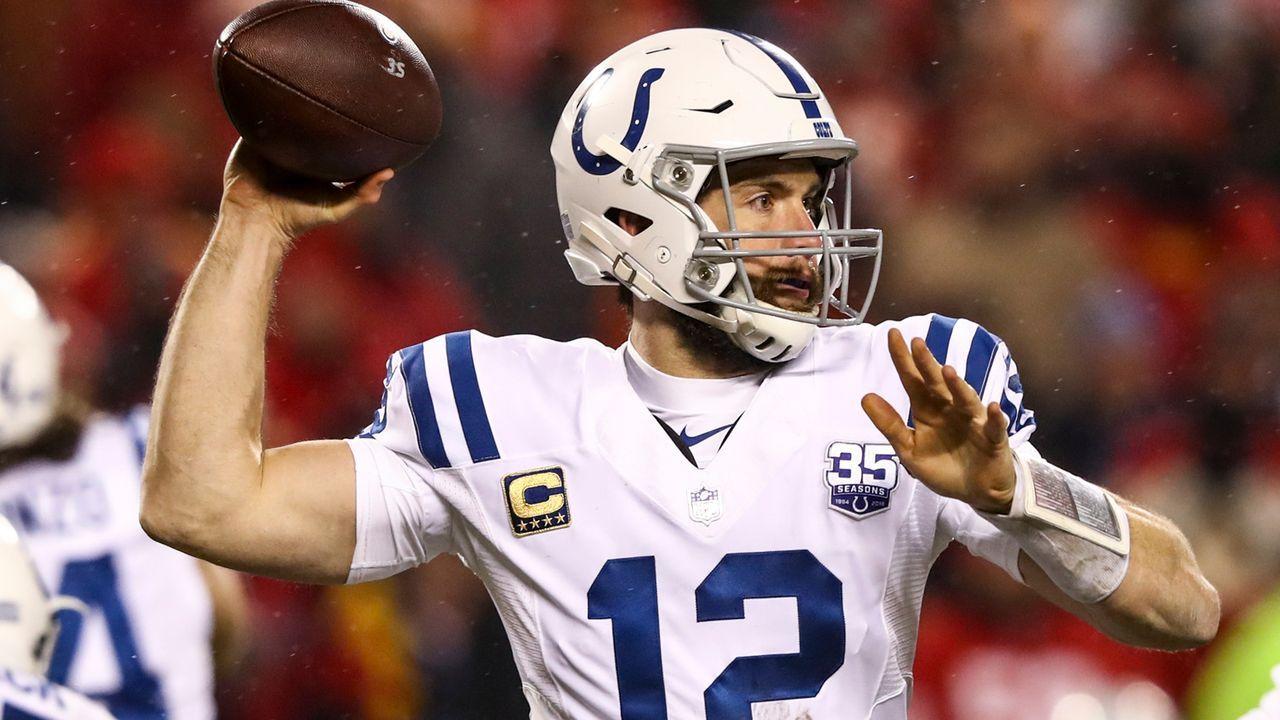 Platz 12: Indianapolis Colts - Bildquelle: 2019 Getty Images