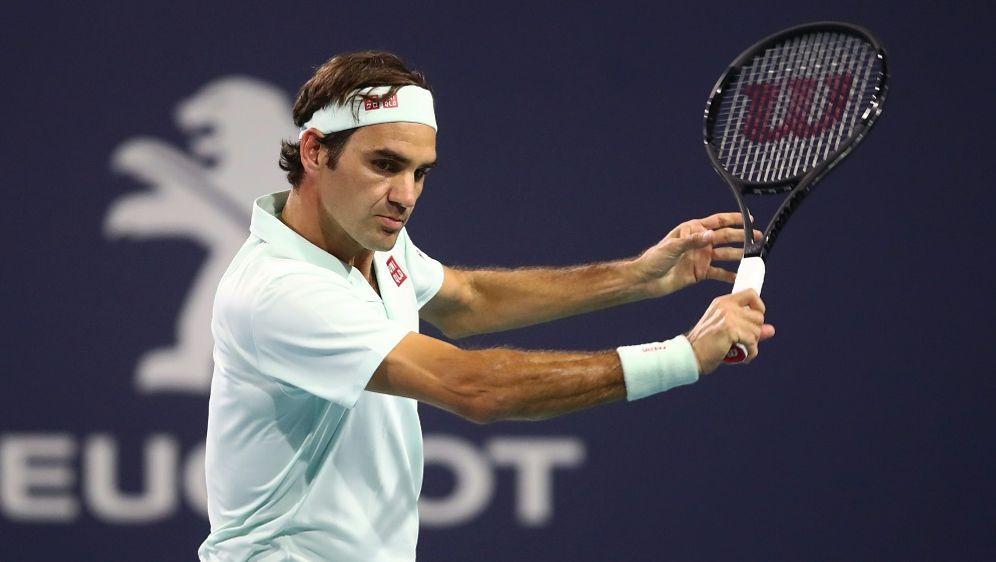 Roger Federer steht beim ATP-Turnier in Miami im Halbfinale - Bildquelle: AFPGETTY SIDJULIAN FINNEY
