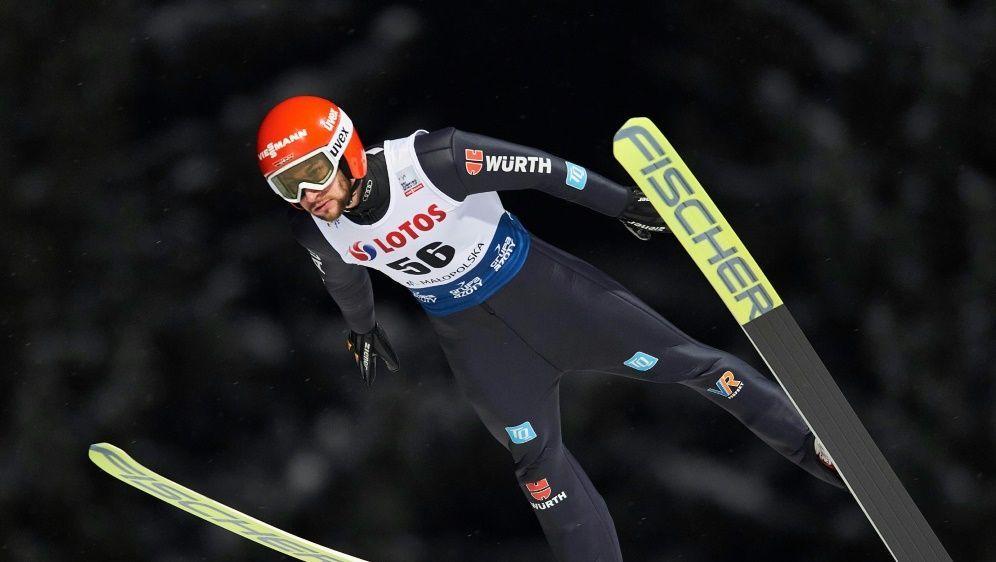 Platz zwei in der Qualifikation: Markus Eisenbichler - Bildquelle: FIROFIROSID