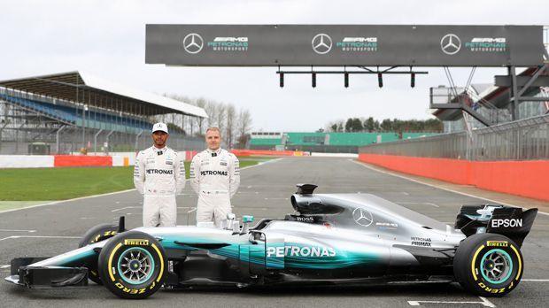 Mercedes F1 W08 - Bildquelle: 2017 Getty Images