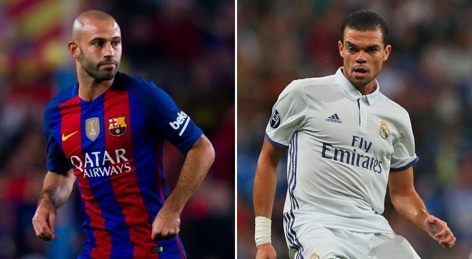Javier Mascherano vs. Pepe  - Bildquelle: imago sportfotodienst/ getty images
