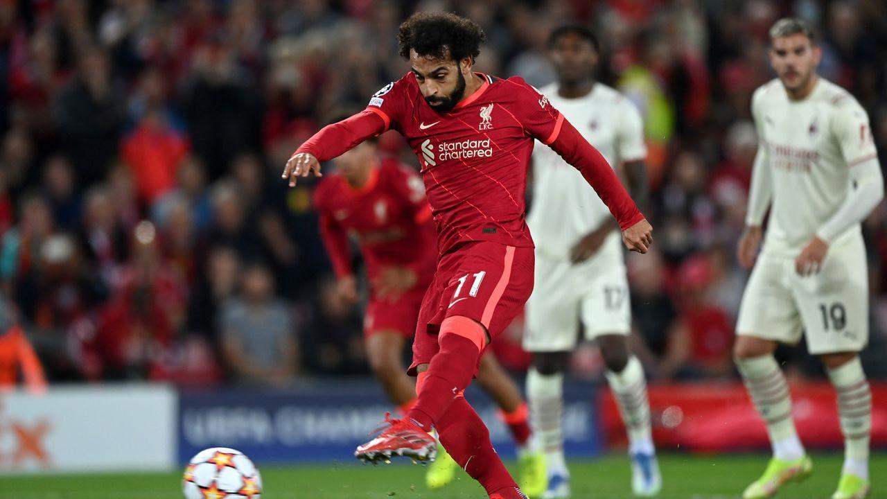 Salah verschießt Elfer - Bildquelle: 2021 Getty Images