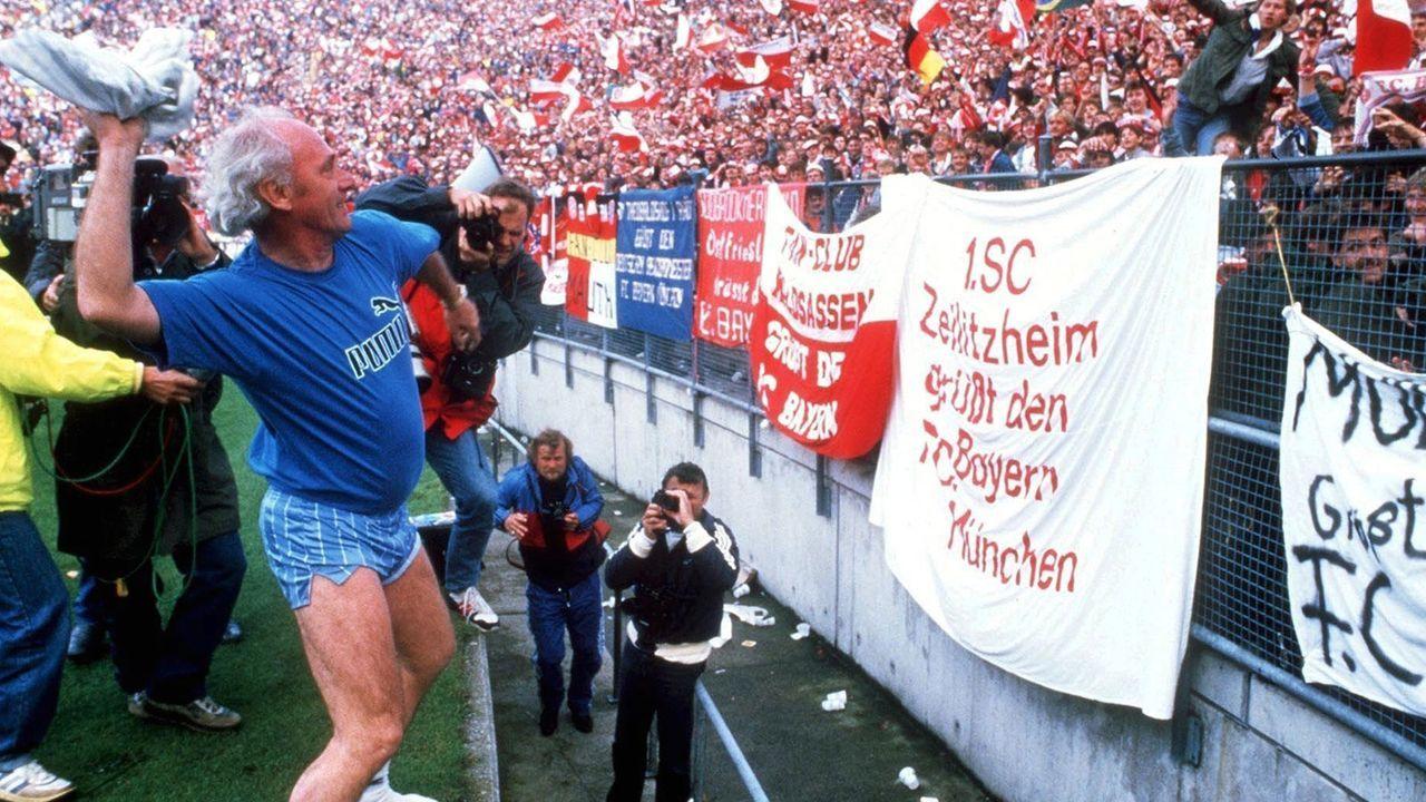 Udo Lattek (FC Bayern 1970-75, 1983-87) - Bildquelle: 1987 Getty Images