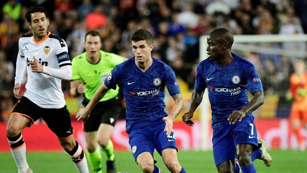 Pulisic holt mit Chelsea einen Punkt in Valencia - Bildquelle: AFPSIDJAVIER SORIANO