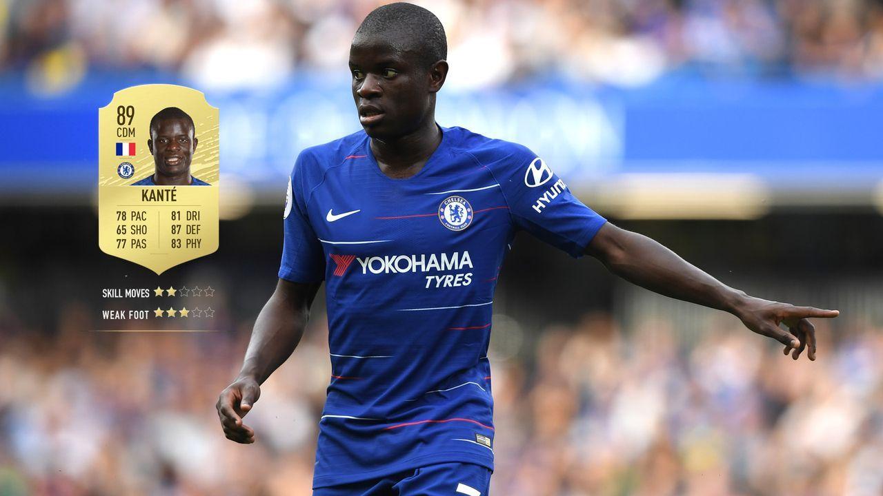 11. N'Golo Kante (FC Chelsea)  - Bildquelle: 2018 Getty Images