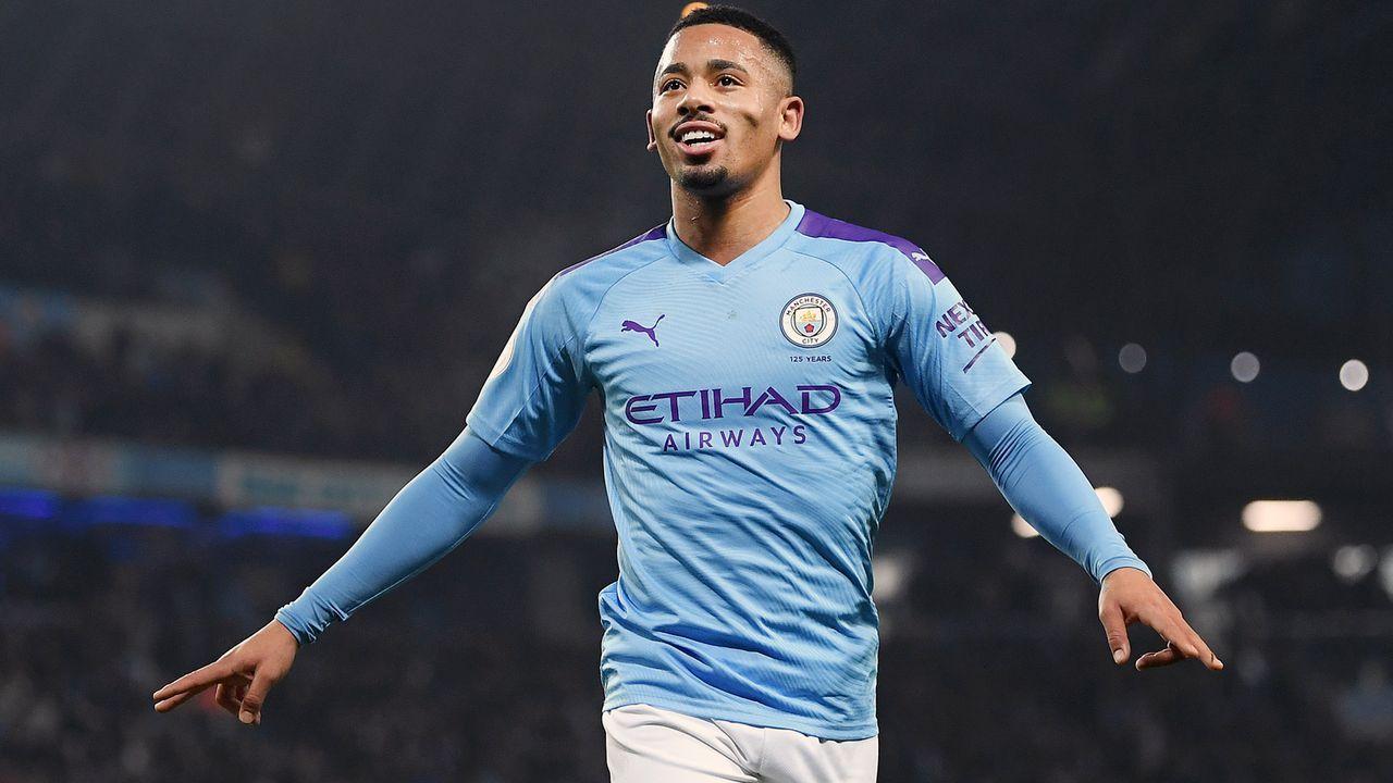 Platz 11 - Gabriel Jesus (Manchester City) - Bildquelle: 2020 Getty Images