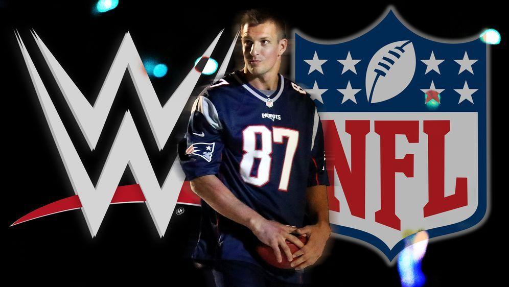 Liegt die Zukunft von Rob Gronkowski in der WWE? - Bildquelle: Getty Images