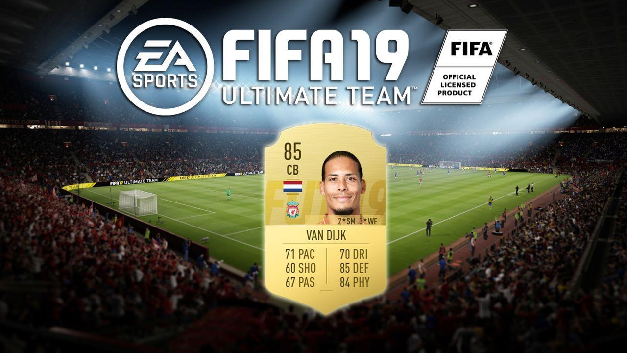 Platz 4: Virgil van Dijk (FC Liverpool) - Bildquelle: EA Sports