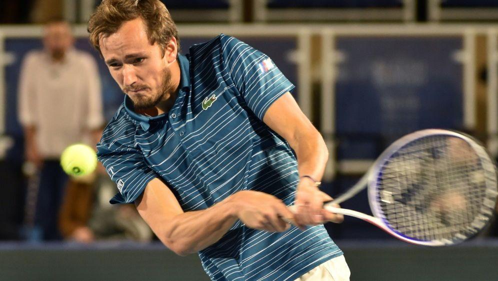 Medwedew qualifiziert für die ATP Finals in London - Bildquelle: AFPSIDFAYEZ NURELDINE