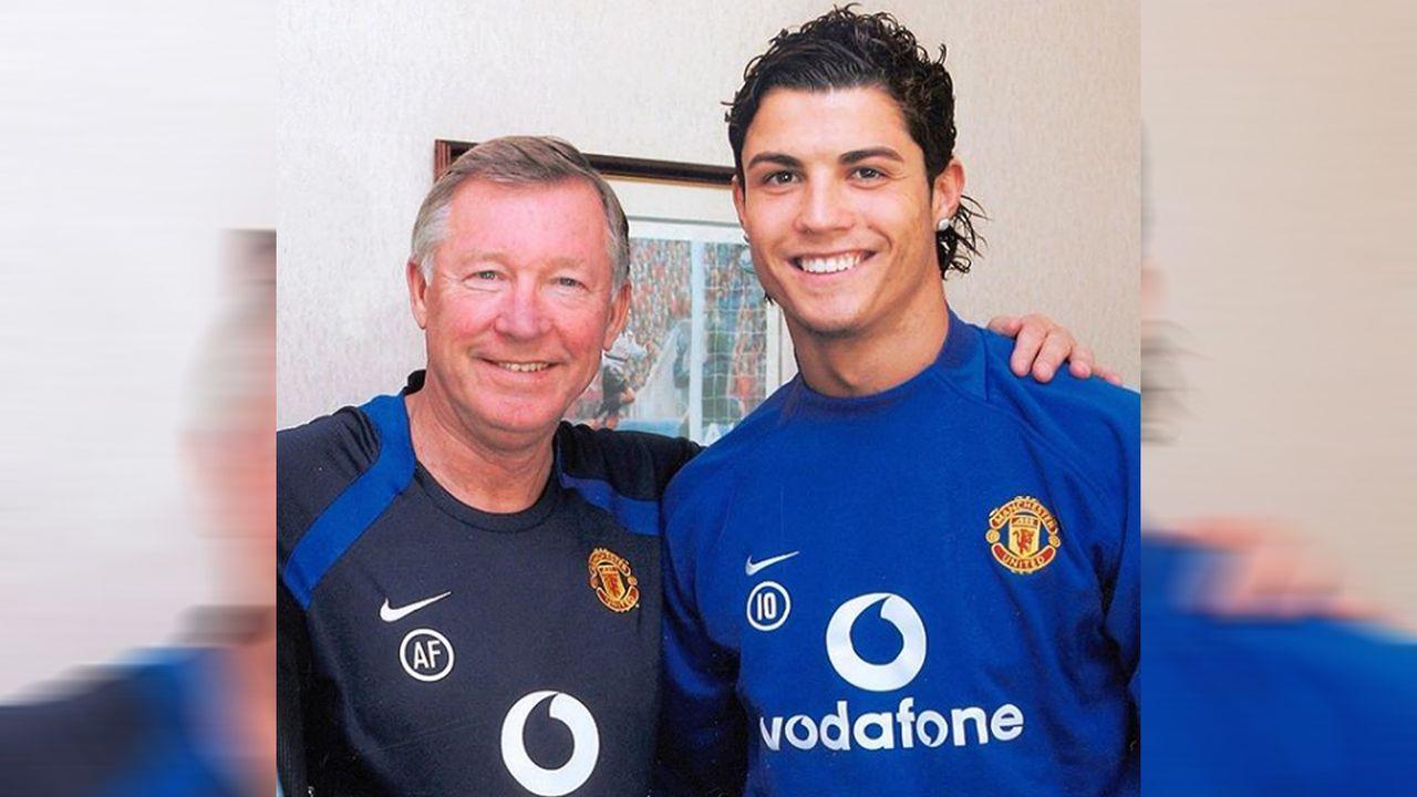 Cristiano Ronaldo bei Manchester United - Bildquelle: cristiano/instagram