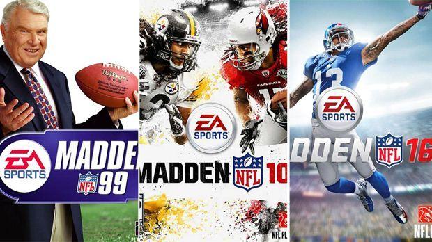 Alle Madden-Cover - Bildquelle: EA Sports