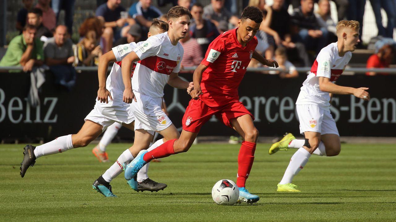 Bayerns jüngster Bundesliga-Torschütze: Das ist Jamal Musiala - Bildquelle: imago images/Sportfoto Rudel