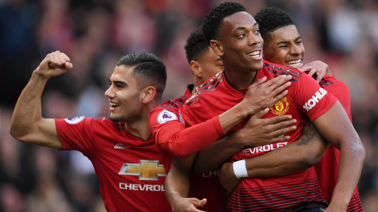 Platz 4 - Manchester United - Bildquelle: 2019 Getty Images