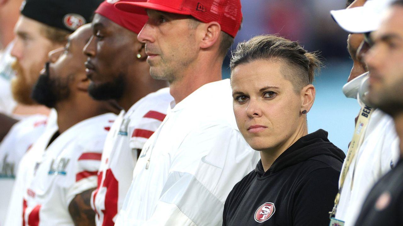 Katie Sowers (San Francisco 49ers) - Bildquelle: Getty
