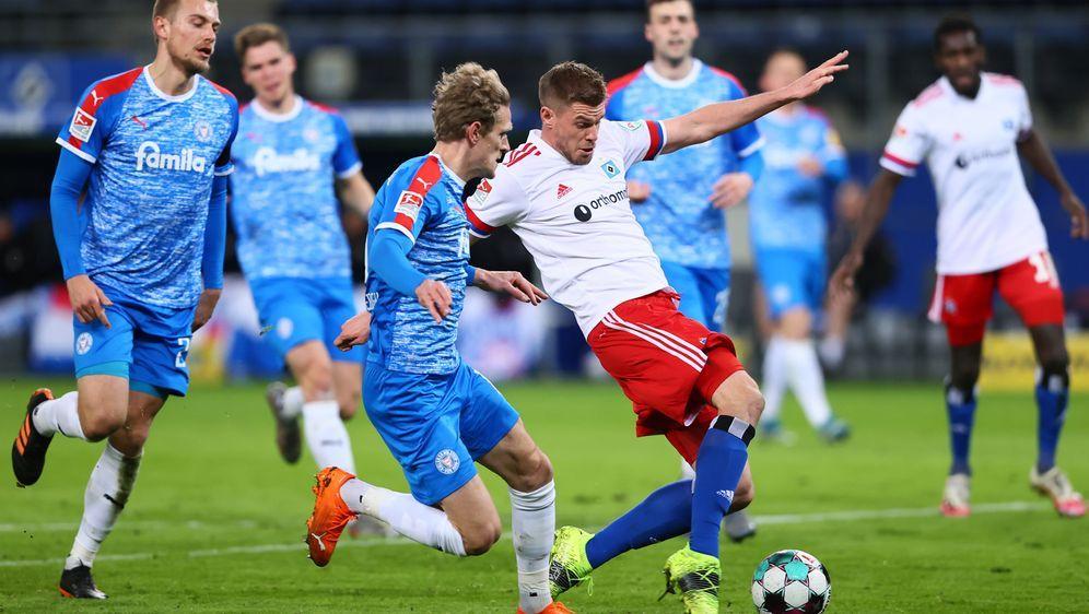 Der HSV verpasst trotz vieler Chancen den Sieg - Bildquelle: Getty Images