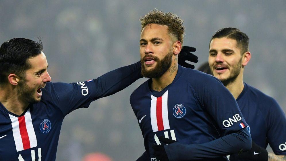 Torschütze zum 2:0: Neymar - Bildquelle: SID-SID-AFPBertrand GUAY