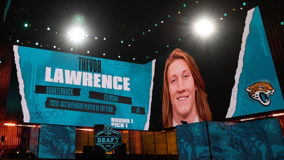 Trevor Lawrence ist der Nummer-1-Pick des NFL Draft 2021