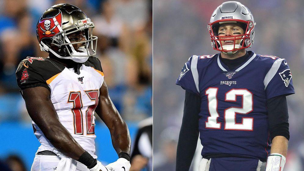 """Bekommt Tom Brady seine Rückennumer bei den """"Bucs""""? - Bildquelle: Getty Images"""