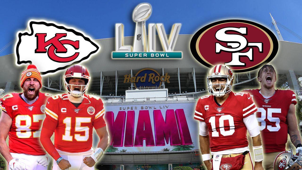 Super Bowl: Chiefs und 49ers im Head to Head Vergleich
