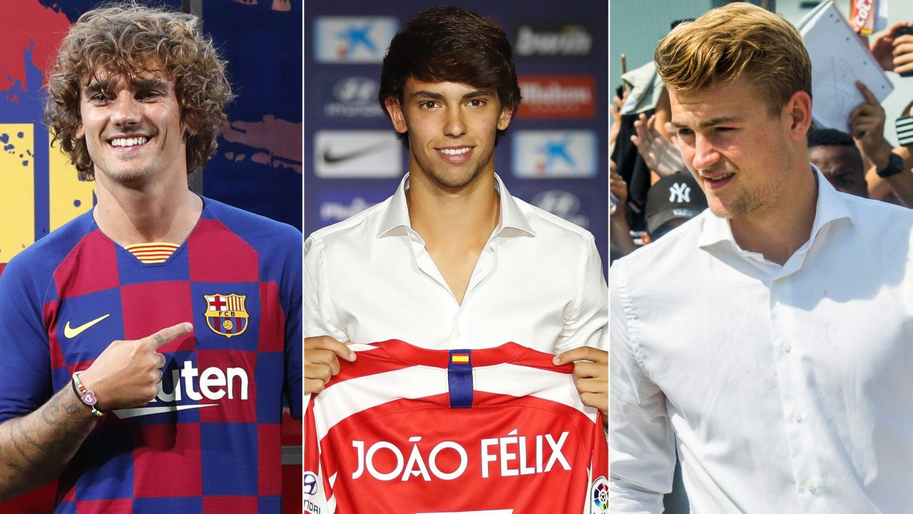 Top 10: Die teuersten Transfers im Sommer 2019 - Bildquelle: Imago