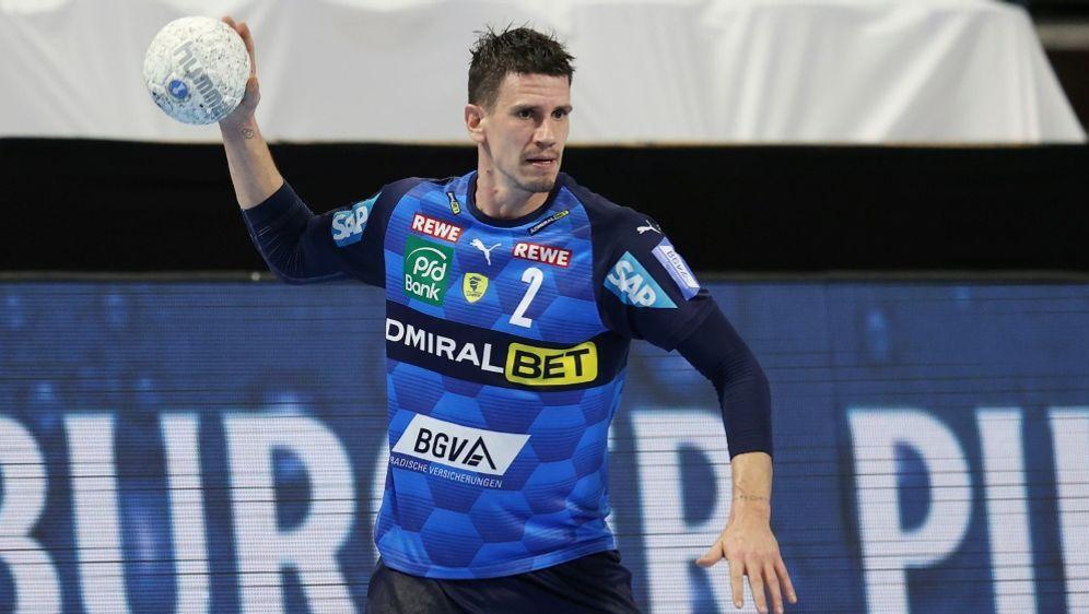 Andy Schmid führt die Löwen mit sieben Treffern zum Sieg - Bildquelle: firo Sportphotofiro SportphotoSID
