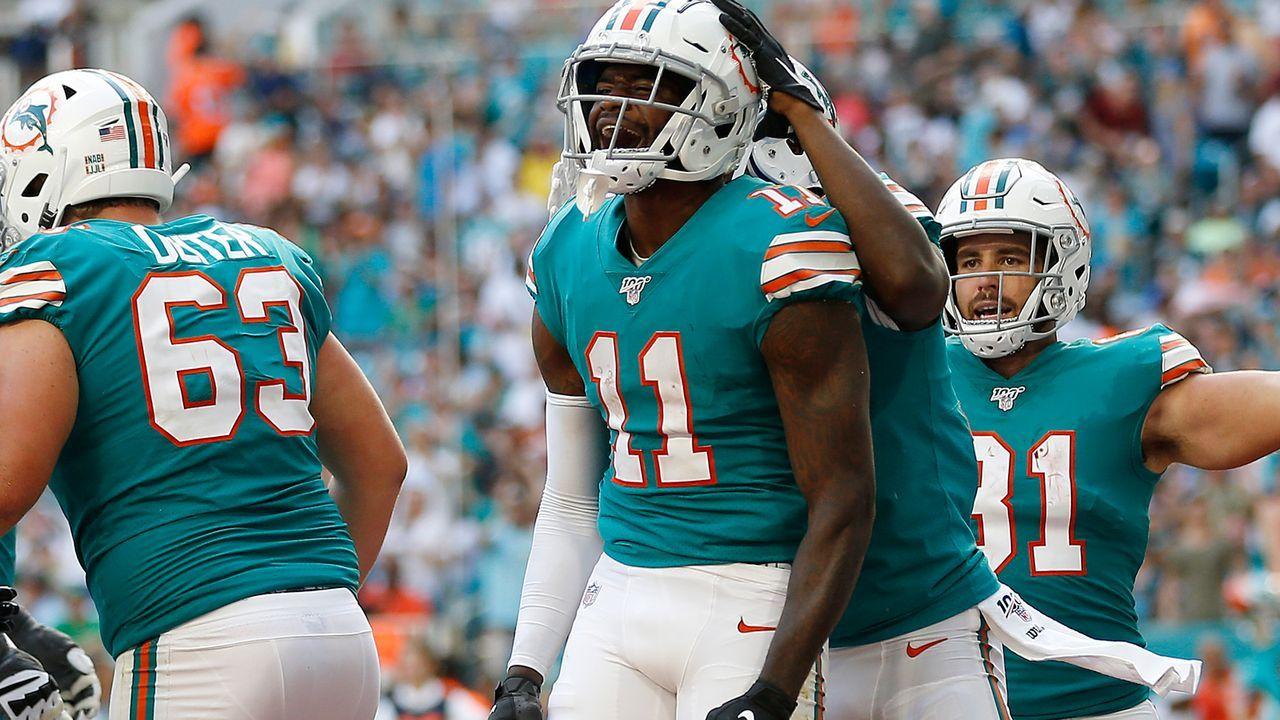 DeVante Parker (Miami Dolphins) - Bildquelle: 2019 Getty Images