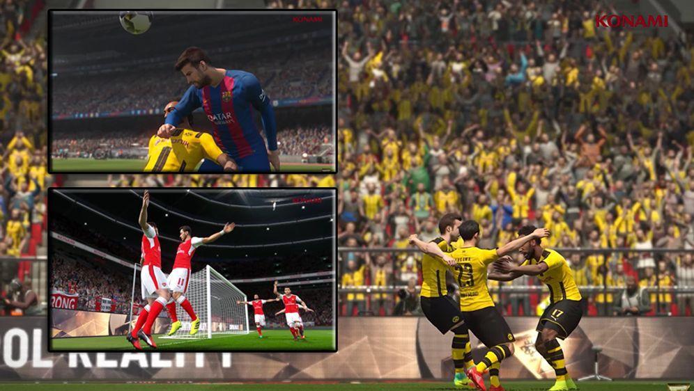 Pro Evolution Soccer geht in die nächste Runde. - Bildquelle: youtube/officialpes