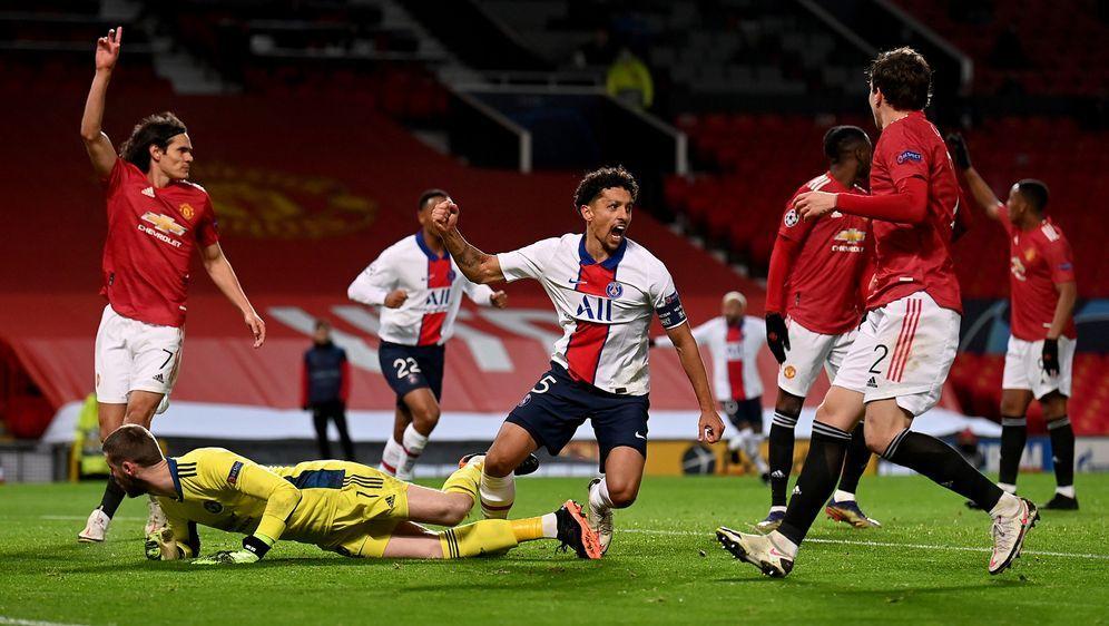 Nach dem Sieg von Paris über Manchester United kann auch Leipzig noch Gruppe... - Bildquelle: 2020 Getty Images