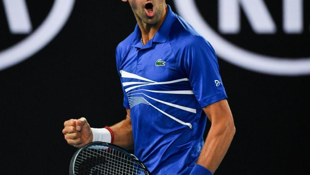 Trifft im Finale auf Rafael Nadal: Novak Djokovic - Bildquelle: AFPSID