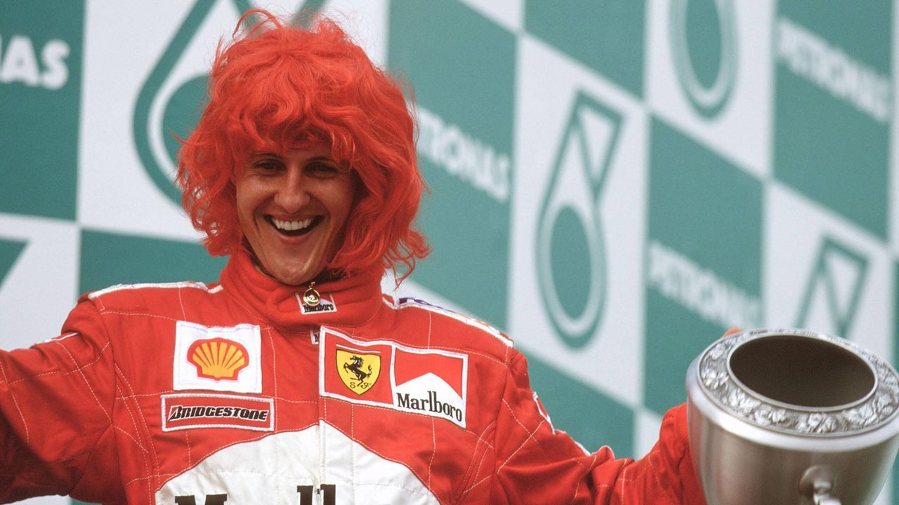 Michael Schumacher feiert ersten WM-Titel mit Ferrari - Bildquelle: imago images/Motorsport Images
