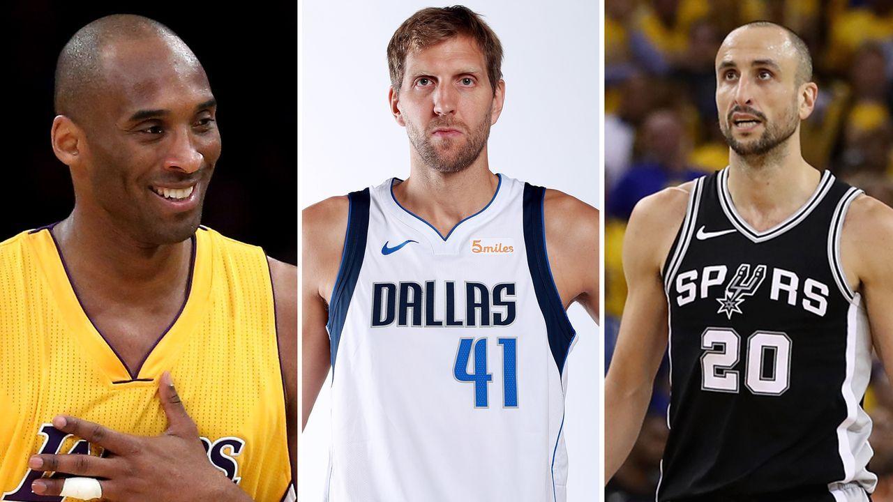 NBA: Diese Spieler hielten ihrem Team am längsten die Treue  - Bildquelle: Getty Images