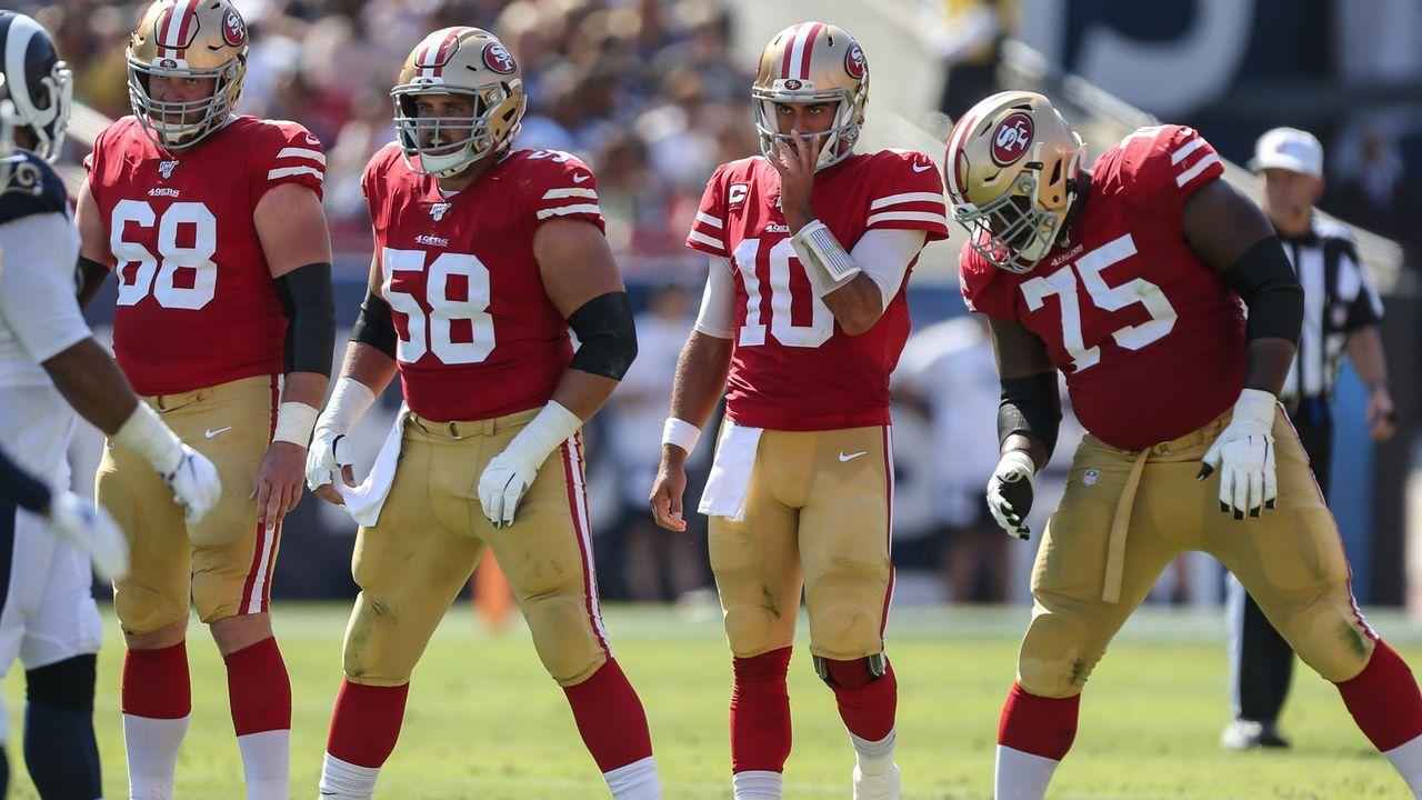 Platz 8: San Francisco 49ers - Bildquelle: imago images/ZUMA Press